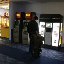 "Distributori Kindle ""self-service"" all'aeroporto di Las Vegas"