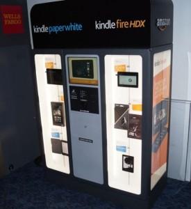 Il Kindle Kiosk a Las Vegas