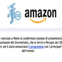 Amazon al Festival Internazionale del Giornalismo di Perugia #ijf14