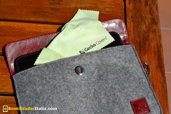 Felt Luxury Sleeve per tablet 7 pollici