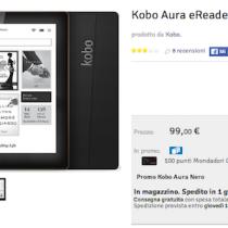 Solo online la promo Kobo Aura a 99 €