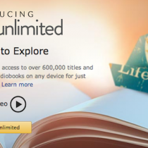 Ebook in abbonamento streaming fino a Kindle Unlimited