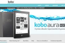 Uscita ufficiale di Kobo Aura H2O, il 6.8 pollici che si tuffa nella lettura