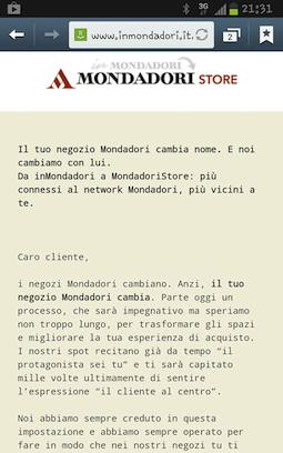 MondadoriStore