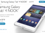 Barnes & Noble immette sul mercato il tablet Samsung Galaxy Tab 4 NOOK