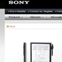 Sony non svilupperà un successore dell'ereader T3