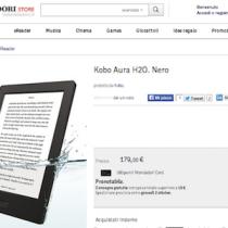 Kobo Aura H2O: prenotabile da ora e in consegna dal 2 ottobre