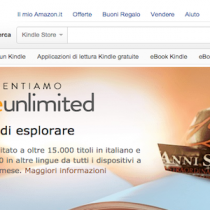 Amazon Kindle Unlimited: disponibile in Italia con ebook in abbonamento