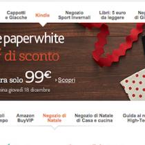 In assenza di Kindle Voyage, sconto di 30 euro sui PaperWhite