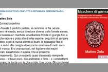 """""""Maschere di guerra"""" di Matteo Zola [ #EbookIncipit ]"""