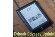Se hai un Cybook Odyssey è ora di aggiornarlo