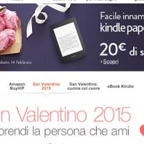 Fino al 14 febbraio scontati 20 euro sugli Amazon Kindle PaperWhite