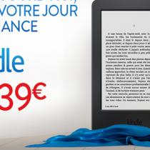 Kindle a 39 euro in Francia solo per oggi