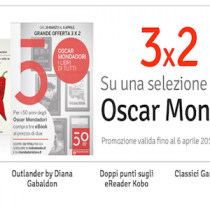 50 ebook Oscar Mondadori in offerta 3×2
