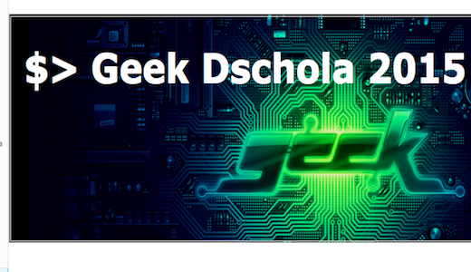 Tecnologia a scuola: i seminari Geek Dschola