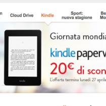 Kindle Paperwhite scontato per la Giornata mondiale del libro (fino al 27 aprile)