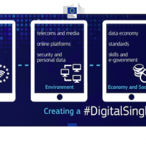 16 iniziative per il Mercato Unico Digitale Europeo ( #DigitalSingleMarket )