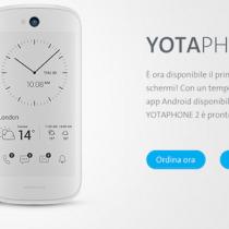 Yotaphone 2 a prezzo rivisitato 599 euro, Lollipop e versione bianca