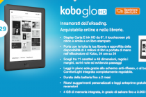 Kobo Glo HD disponibile in consegna in Italia