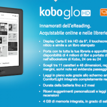 Kobo Glo HD disponibile in consegna in Italia