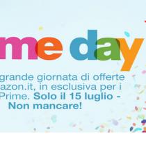 15 luglio è #PrimeDay su Amazon, offerte esclusive per i clienti Prime