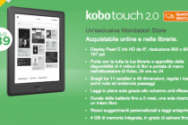 Kobo Touch 2.0 è ordinabile e in consegna immediata