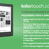 Kobo Touch 2.0 è ordinabile e in consegna immediata