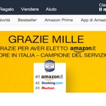 Amazon solo per oggi sconta 10 euro con GRAZIE1000