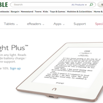 NOOK GlowLight Plus e l'incompatibilità con Adobe Digital Editions