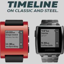 Aggiornate a Timeline il software del vostro Pebble Classic e Steel