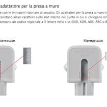 Apple richiama adattatori presa Mac e iOS e li sostituisce gratuitamente