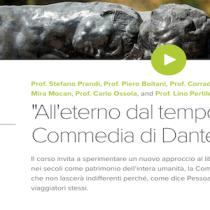 """La Commedia di Dante viaggia online in un corso gratuito: """"All'eterno dal tempo"""""""