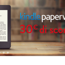 Amazon Kindle Paperwhite in offerta a 99 euro