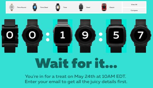 Pebble svela il conto alla rovescia: su Kickstarter con Pebble Core e 2 nuovi smartwatch