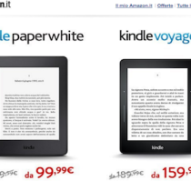 Gli ebook reader in offerta per l'estate