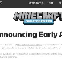 Microsoft ha rilasciato Minecraft Education Edition, versione per la scuola