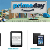 Per tutto oggi i Kindle scontati di 40 euro per il #PrimeDay