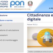 Scuole: scade il 5 maggio il finanziamento per competenze e cittadinanza digitale