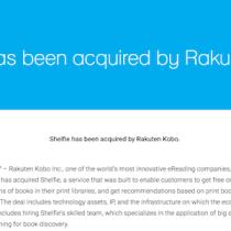 Rakuten Kobo acquisisce Shelfie, il servizio per scattare selfie ai vostri scaffali di libri