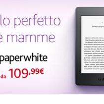 Sconto -20 euro su Kobo Aura e Kindle PaperWhite per la Festa della mamma