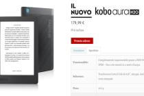 Prenotabile da oggi 15 maggio il nuovo Kobo Aura H2O