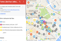 La mappa di librerie, biblioteche e case editrici a Torino #SalTO30