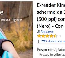 Per l'estate risparmi 30 euro sull'acquisto del Kindle PaperWhite