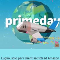 Oggi 11 luglio ci sono le promozioni Prime Day su Amazon