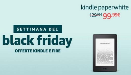 Le offerte Black Friday per Kindle e Kindle Fire