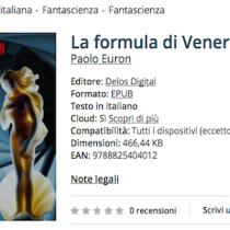 'La formula di Venere' di Paolo Euron [ #EbookIncipit ]