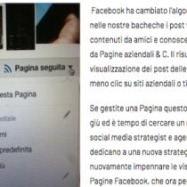 L'algoritmo di Facebook dà meno spazio alle Pagine: rimedia tu con un clic