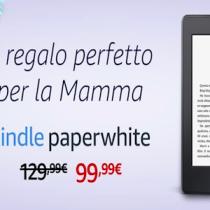 Kindle PaperWhite e Kobo Aura in sconto per la Festa della Mamma 2018