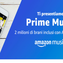 Amazon Kindle Paperwhite a 99,99 euro e musica gratis su Prime Music