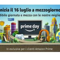 A mezzogiorno del 16 luglio iniziano le offerte Amazon Prime Day